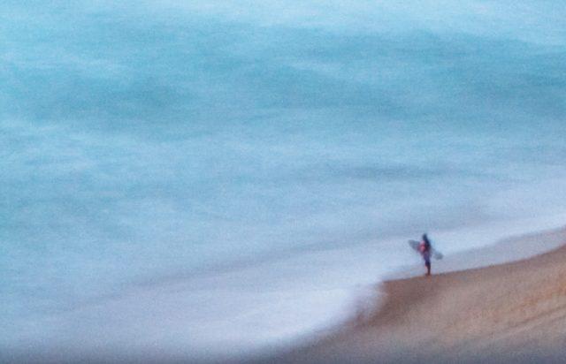 Australian Surfer Print Aldona Kmiec artist