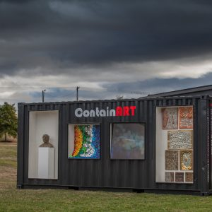 shipping container art ballarat