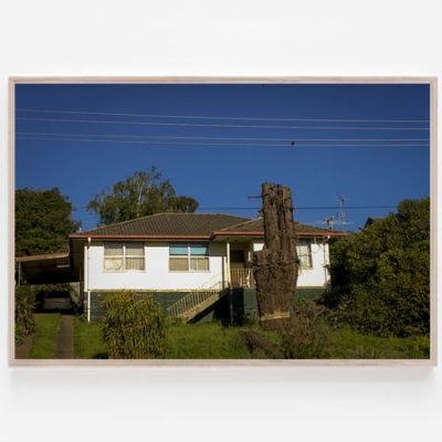 The house on the hill print Australian architecture attitude
