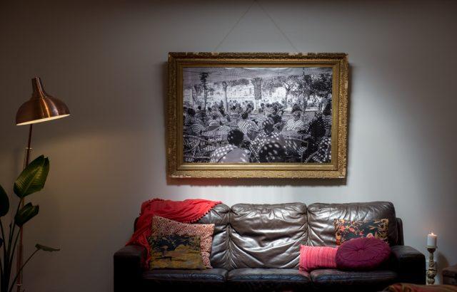 Cafe in Soler Print Ballarat Artist Aldona Kmiec Photographer