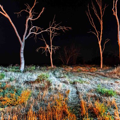 Wimmera Nights Print Lake Hindmarsh nightsky Wimmera