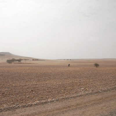 Ballarat artist Moroccan Man desert landscape