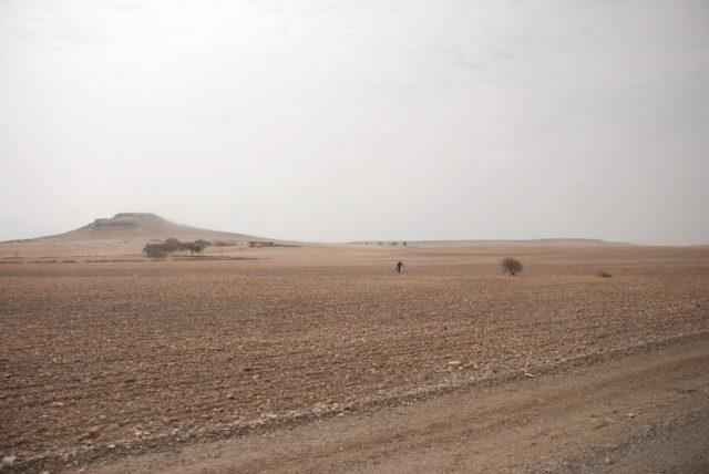 Peripatetic Moroccan Man desert landscape