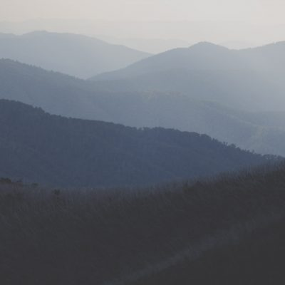 Victorian Alps australian landscape prints Mount Hotham road