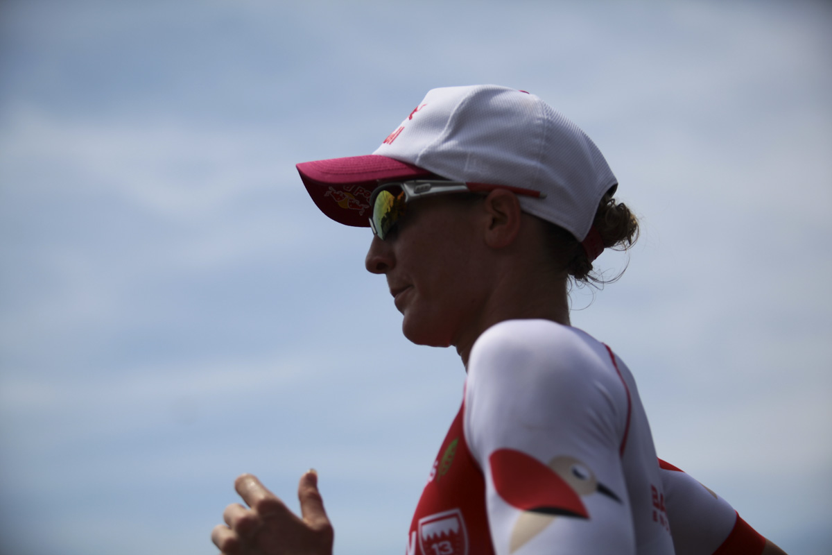 Kona Ironman Daniele Ryf winner professional triathlon female athlete running