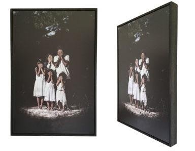Invisible Lives artwork Archival photo print ALDONA KMIEC Colours of World Cultures exhibition