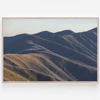 Mount Feathertop Print The Razorback Victorian Alps
