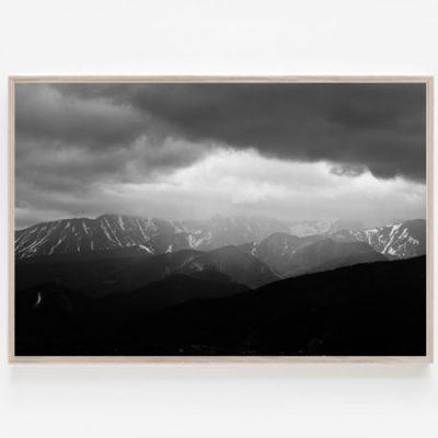 Tatry print Giewont rycerz Tatry Mountains