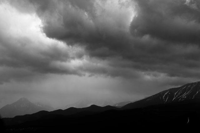 Tatry mountains print Giewont rycerz Tatry Mountains