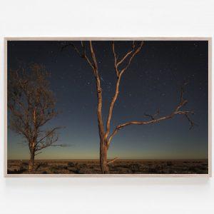 Lake Hindmarsh Dreaming print Wimmera Lake Hindmarsh stars trails Australia Aldona Kmiec