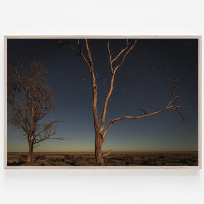 Lake Hindmarsh Dreaming print Wimmera Lake Hindmarsh stars trails Australia Aldona Kmiec