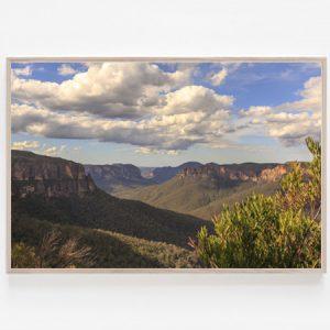 Blue Mountains print