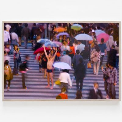Shibuya Crossing print artwork