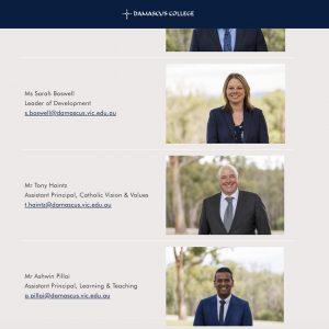 Leadership Team headshots_Damascus College Ballarat1