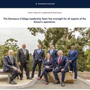 Leadership Team headshots photography _DamascusCollegeBallarat3