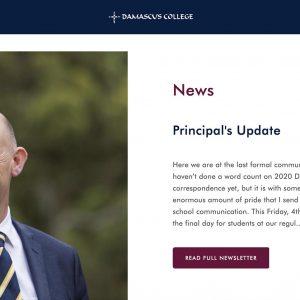 School Principal headshots photography Damascus College Ballarat Leadership Team headshots